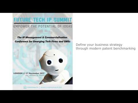 Defineyour business strategy through modern patent benchmarking