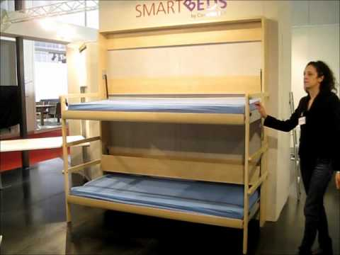 Bunk Bed Letto A Castello Pieghevole Compact Living Youtube