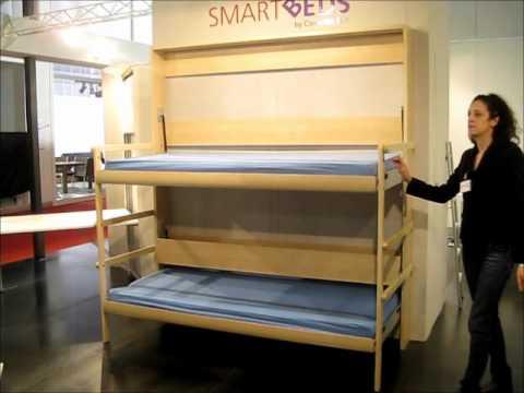 BUNK BED LETTO A CASTELLO PIEGHEVOLE COMPACT LIVING