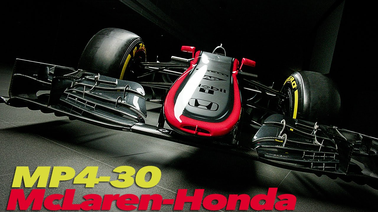 McLaren-Honda MP4-30 F1 2015 | Car Launch