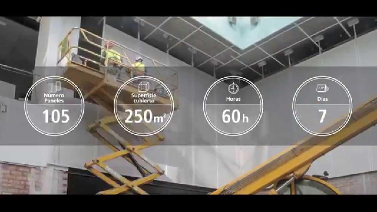 by ciments calcia quand le beton laisse passer la lumiere centre pompidou malaga. Black Bedroom Furniture Sets. Home Design Ideas