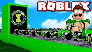 OUR OWN MANUFACTURE OF OMNITRIX in ROBLOX !!
