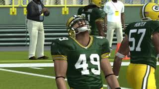 Madden NFL 08 Franchise Game Week 1 Philadelphia Eagles vs Green Bay Packers  09 09 2007