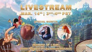 ONE PIECE World Seeker Launch Livestream | PS4, X1, PC