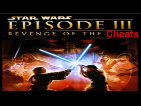 S.W. Revenge Of The Sith All Cheats Gameplay PS2