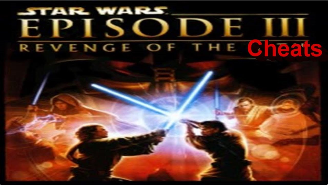 S W Revenge Of The Sith All Cheats Gameplay Ps2 Youtube