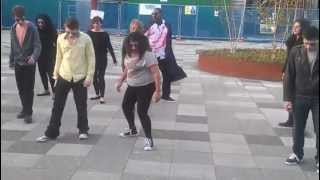 Rutherford College Flashmob - University of Kent