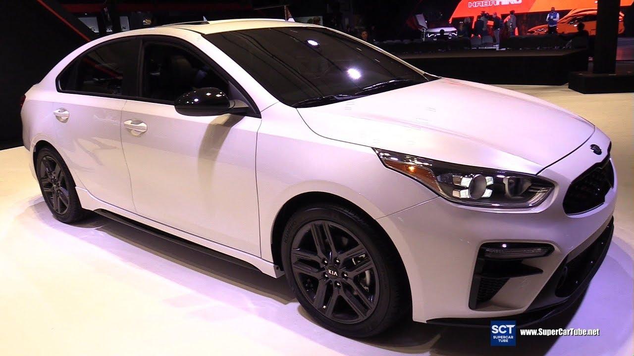 2020 kia forte gt line - exterior and interior walkaround - 2019 new york auto show