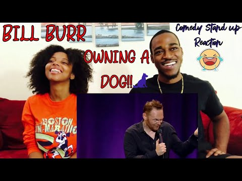 BILL BURR -OWNING A DOG REACTION!