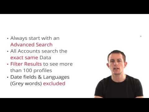 LinkedIn Boolean Back to Basics