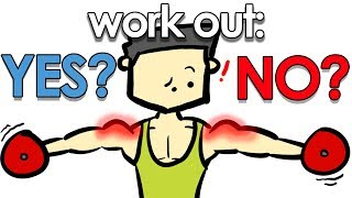 Gambar cover Can You Work Out While Sore?