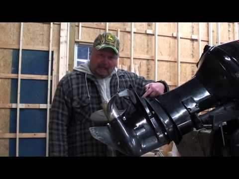 Pt.1 Mercury 50HP Outboard Water Pump Replacement At D-Ray's Shop
