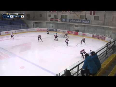 HK Dinamo Juniors - HK Zemgale/LLU (0:6) spēles ieraksts (20.11.2013)