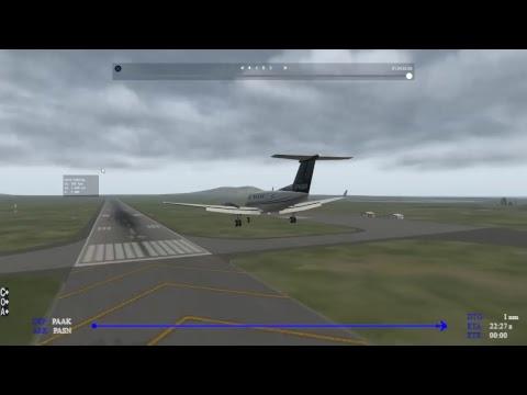 (X-Plane 11)World Tour-US-Alaska-Atka (PAAK) to St Paul Island (PASN)