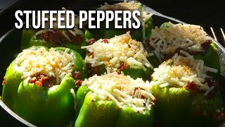 Stuffed Peppers By The Bbq Pit Boys