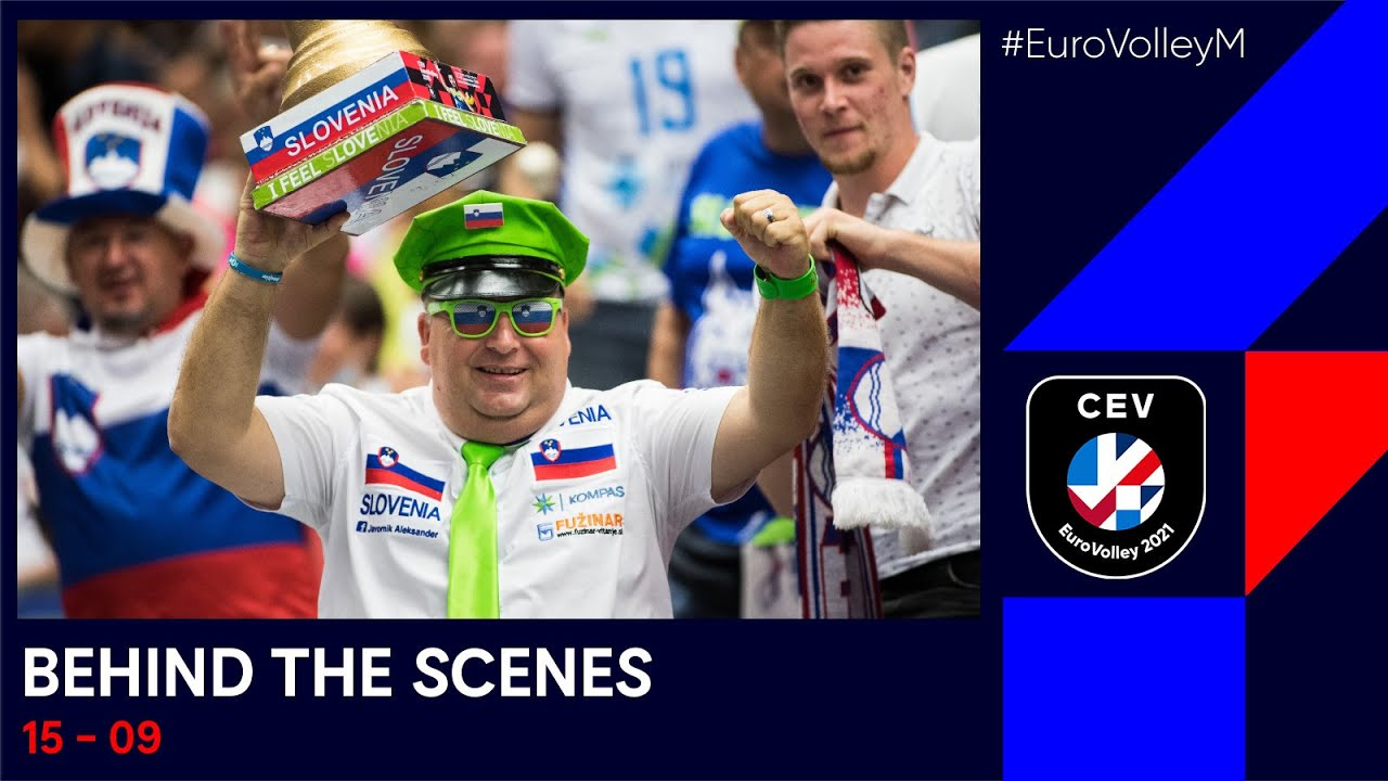 Italy & Slovenia off to the semis! I #EuroVolleyM I Behind the Scenes