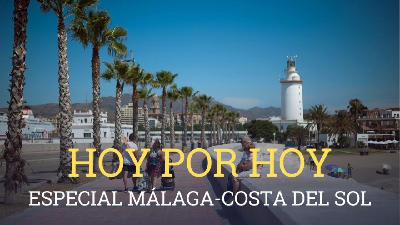 Hoy por Hoy da la bienvenida al verano desde Málaga, Costa del Sol  (1-07-2020)