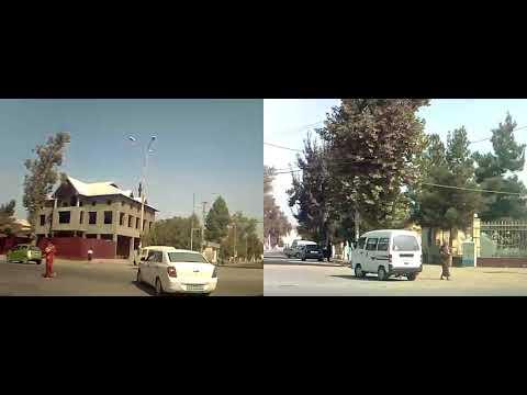 Обзор города Асака. Узбекистан 05.09.2017. Часть 2