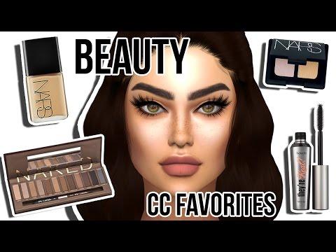 Sims 4: CC BEAUTY FAVES #3 | Glowkits, Matte Lipcolors, Eyelashes + more!!