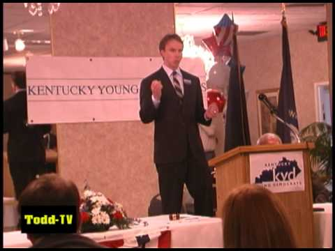 Todd Hollenbach at the 2011 Young Democrats Convention