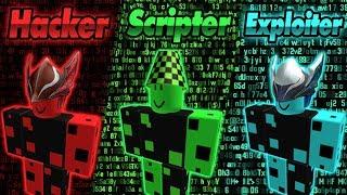 😰 Trio mais perigoso de Roblox de exploradores, hackers e scripts 😰