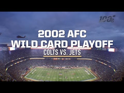 Top Jets Moment: 2002 Wild Card Game vs. Colts | New York Jets | NFL 100