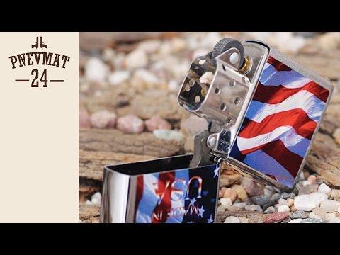 Зажигалка Zippo Made in USA Flags 24797
