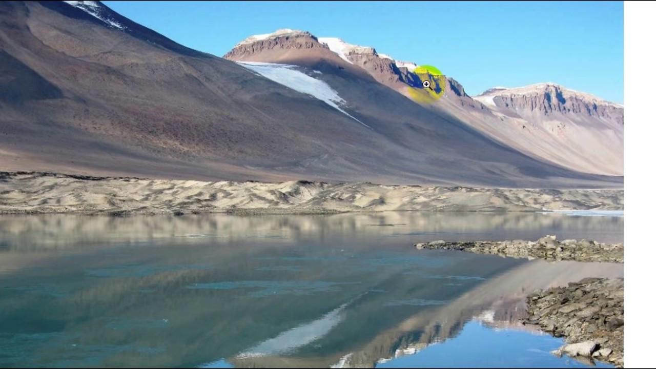 Теплые озера и сухие долины Антарктиды