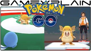 Pokémon Go - Gym Battle & Evolving Pokemon