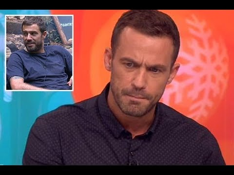 Jamie Lomas reveals his sadness after close friend died the day he entered I'm A Celeb and he
