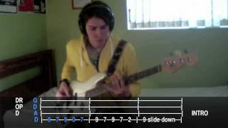 "Hillsong United ""Yours Forever"" bass tab/cover in Drop D - Tear Down The Walls - 2009"