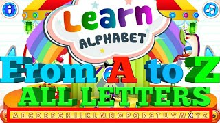 Learn Alphabet From A to Z full Letters 1 Hour Video | Kids Learn and Play
