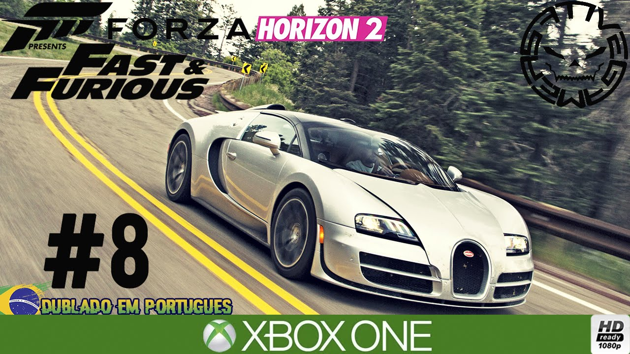 forza horizon 2 velozes e furiosos bugatti veyron e carro no celeiro por. Black Bedroom Furniture Sets. Home Design Ideas