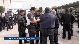 Comerciantes de San Martín Texmelucan piden se quede la policía estatal