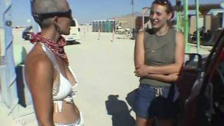 The Greeters: A Dog and Pony Show at Burning Man