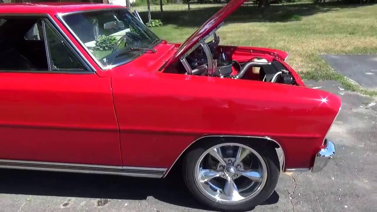 SOLD!!! - RossCustomsMI.com - 1966 Chevy II Nova SS - $32,000 ...