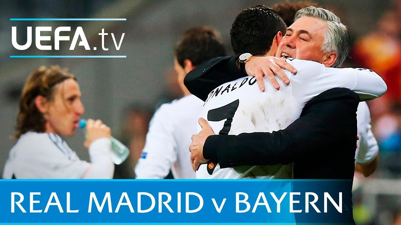 real madrid v bayern highlights 2013 14 uefa champions league semi