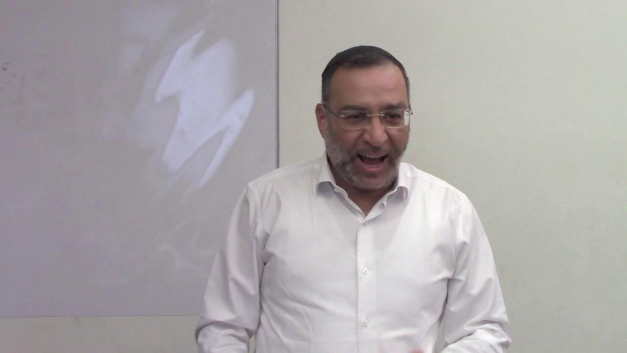 הלכות מזוזה - צורבא מרבנן - הרב בן ציון אלגאזי
