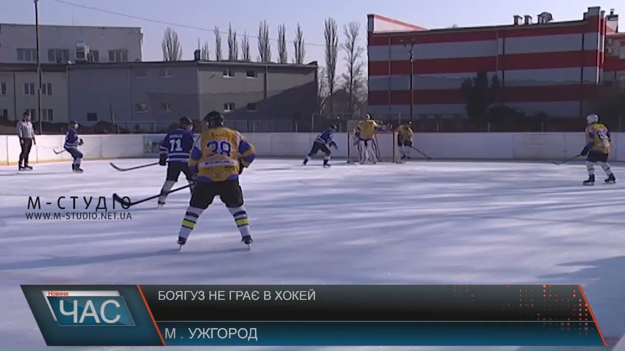 Боягуз не грає в хокей