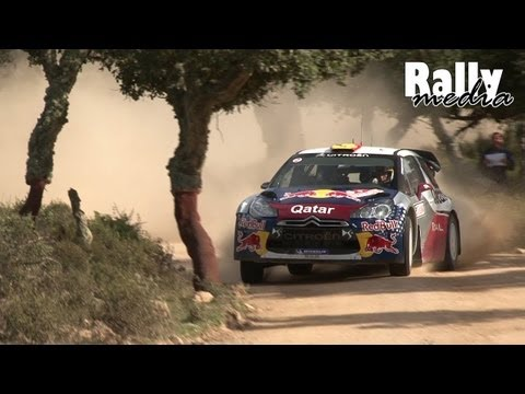 WRC Rally Sardinia 2012 (HD - Pure Sound)