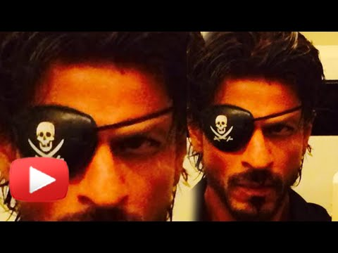 Shahrukh Khan Turns Pirate For Happy New Year!