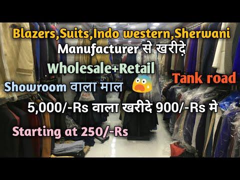 Blazers,Suits,Indo western,Modi coat,Sherwani,Coat-pant wholesale market,Tank road,Karol bagh