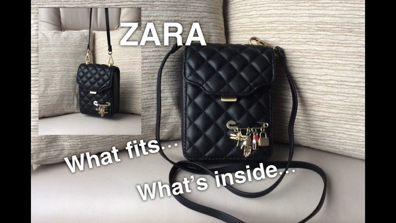 0fc719e49d Mini Quilted Zara Bag
