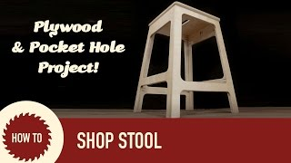 How To Build A Stool Out Of Plywood