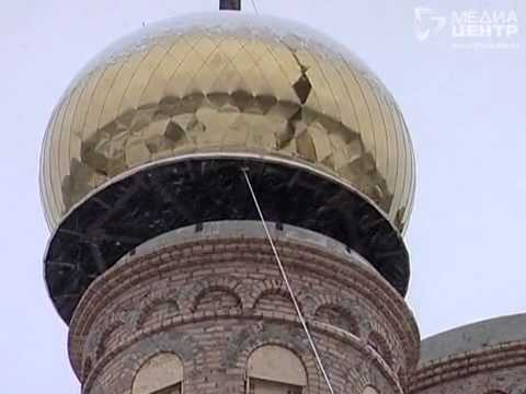 Храм преподобных Афанасия и Феодосия получил купола