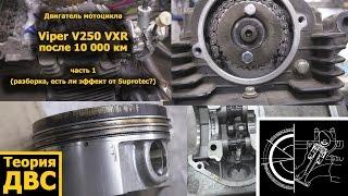 Теорія ДВЗ: Китайський мотоцикл Viper V250 VXR після 10 000 км частина 1 (двигун, ефект Suprotec?)