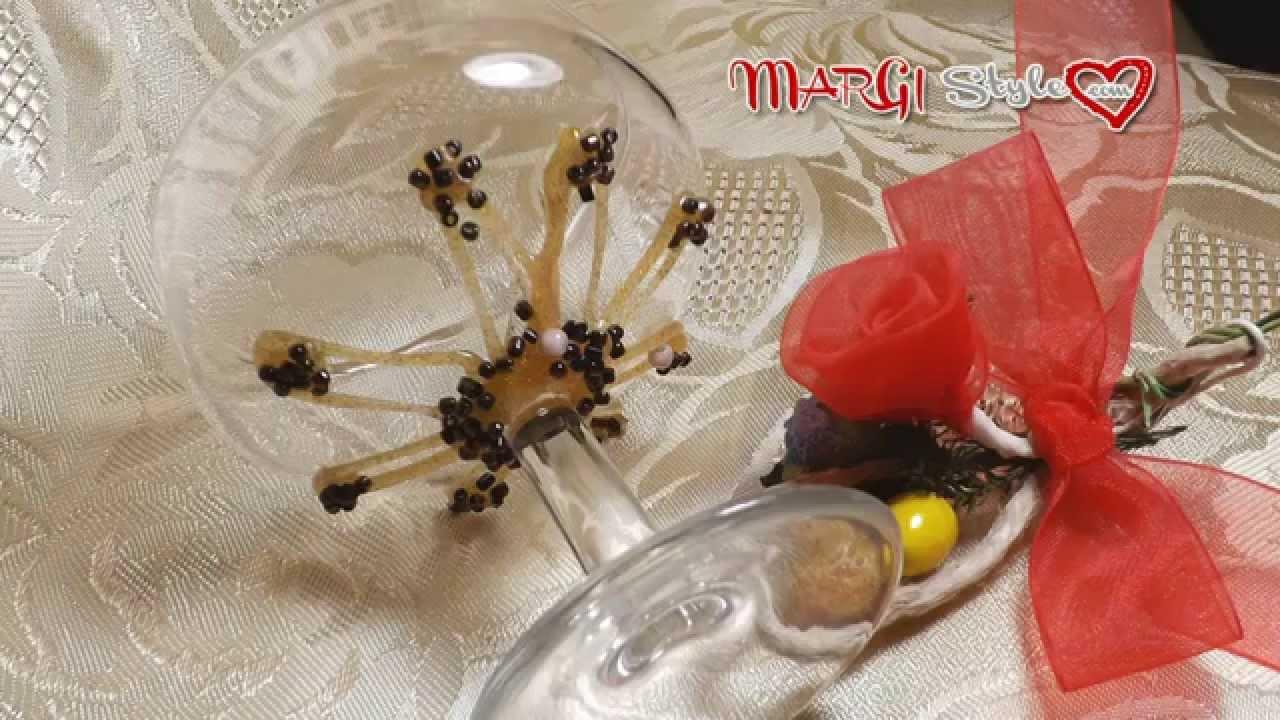 Come Decorare Un Bicchiere Di Vetro