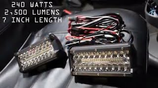 How to install LED off-road spot/flood lights in your vehicle
