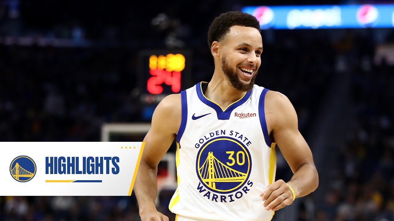 Best of Stephen Curry's Left-Handed Passes