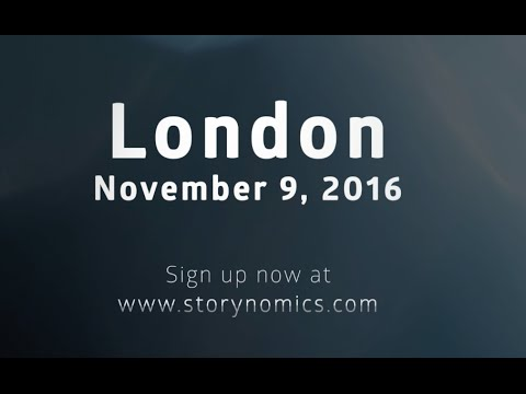 Storynomics Seminar London — Don't Interrupt. Entertain.